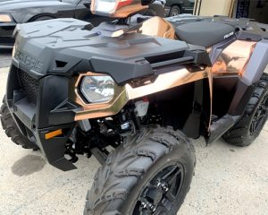 all terrain vehicle with custom wraps